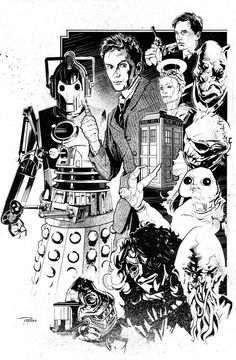 Dr Who by Nick Runge *