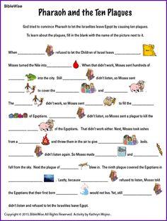 Pharaoh and the Ten Plagues - Kids Korner - BibleWise