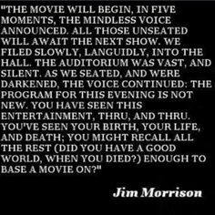 Jim Morrison (The Doors) Brilliant mind. Read his lyrics, hear the music, read the poetry... heck, see the movie if you want (although it is only art imitating life)