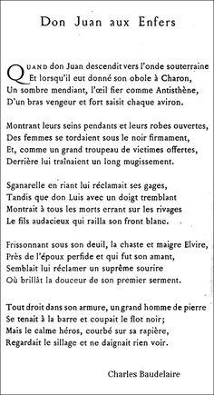 Baudelaire - Don Jua