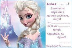 """Képtalálat a következőre: """"lanyos szulinapi meghivok"""" Frozen Party, Elsa, Diy And Crafts, Disney Princess, Disney Characters, Birthday, Creative, Google, Craft"""