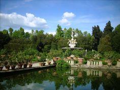 Boboli gardens Florence, Tuscany Italy