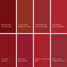 Rectory Red 217 From Farrow Ball Is A Beautiful Deep