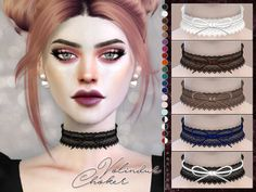 Volindur Choker for The Sims 4