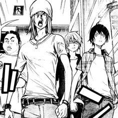 Fukuda Team, without Eiji >.<