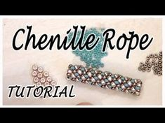 BeadsFriends: Tubular beadwork tutorial (Chenille Stitch) ~ Seed Bead Tutorials