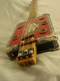 Cigar Box Guitars - Tim Greenhalgh