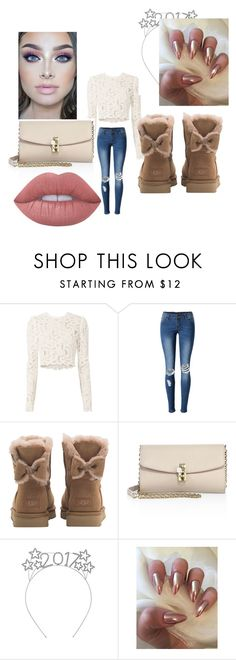 """""""Comfy Days"""" by kenderrickaj6 ❤ liked on Polyvore featuring A.L.C., WithChic, UGG, Dolce&Gabbana and Lime Crime"""