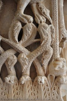 Trogir - Damlatia, Croatia - a detail of medieval architecture #croatia #hrvatska