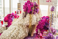 Style Unveiled Radiant Orchid Wedding