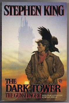 1988 Stephen King The GUNSLINGER Dark Tower I First Plume Printing Softcover 1