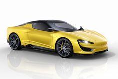 magna MILA plus hybrid sports car set for 2015 geneva motor show