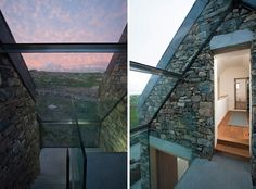 Restored Stone Cottages in Galway by Peter Legge
