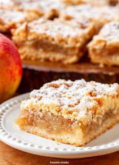 Szarlotka Apple Cake Recipes, Dessert Recipes, Kid Friendly Meals, Apple Pie, Nutella, Sweet Tooth, Food Photography, Food And Drink, Yummy Food