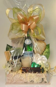 Mother's Day Gift Baskets! Give your mom something special this Mother's Day. Just tell us a little bit about her and we'll customize the perfect gift basket. Our spa baskets come with body wash, lotion, soap and lots of extras!  #mothersday #mothersdaygifts #giftformom #spa #spagifts