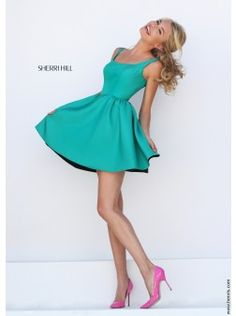 Sherri Hill 50362 | Find this 2016 homecoming dress at www.henris.com