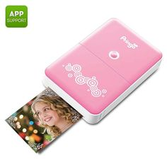 amazones gadgets Portable Wi Fi Photo Printer Prints Photos From Smartphone Free Android and iOS: Bid: 153,98€ (£135.56) Buynow Price…