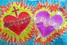 Sacred and Immaculate Heart Craft.