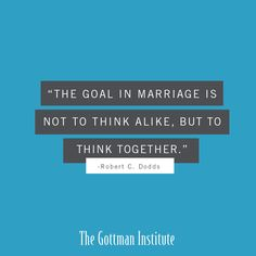 Think together even when you don't think alike. Your differences are an…