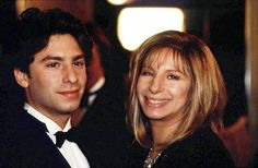 Jason with his mother Barbra Streisand