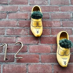 Not too many people in The Netherlands still wear clogs but they do make nice house decoration! #Arnhem