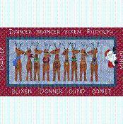 Santa's Reindeers - via @Craftsy
