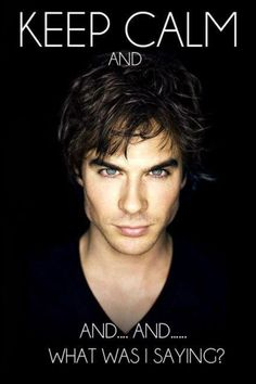 Damon The Vampire Diaries -- oh just kill me now!