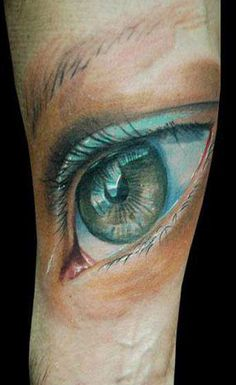 Realism Eyes Tattoo by Darek Darecki - http://worldtattoosgallery.com/realism-eyes-tattoo-by-darek-darecki-2/