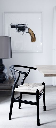 Home of a gallery owner - Coco Lapine Design