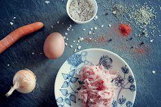 Sormiruokailijan broileripyörykät - pestoa, patoja, pastaa #sormiruokailu