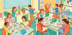 Classroom - ¿Qué hay en el salón de clase ideal?