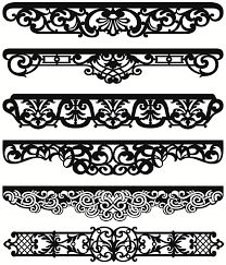 1 million+ Stunning Free Images to Use Anywhere Stencil Patterns, Stencil Designs, Border Design, Pattern Design, Rideaux Design, Pelmets, Carving Designs, Modern Curtains, Ornaments Design