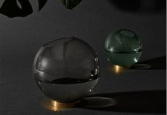 AYTM contrasts materials and textures for product collection Danish Interior, Nordic Design, Decorative Bowls, Contrast, Texture, Collection, Glass Vase, Blogging, Objects