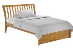 Nutmeg Platform Bed Frame Oak K Series
