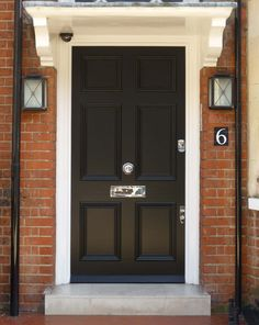This kind of front doors interior most certainly is an inspiring and glorious id., This kind of front doors interior most certainly is an inspiring and glorious id. Black Composite Front Door, Black Front Doors, Double Front Doors, Composite Door, Solid Doors, Front Door Colors, Colonial Front Door, Victorian Front Doors, House Front Door