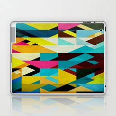 Colorful Game Laptop & iPad Skin by Fine2art - $25.00