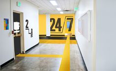 A hypothetical wayfinding system for a design conference in the Art Building at the University of Washington.