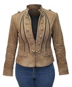 For a steampunk costume and just to wear around   Valkyrie Leather Coat - #206 Brown