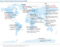 Antibiotic resistant bacteria is becoming a world wide problem.