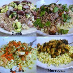 Simple AIP Mediterranean Bowls - Autoimmune Wellness