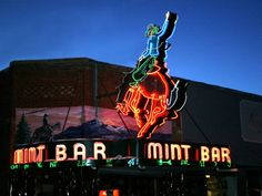 Mint Bar Sheridan Wy, a very cool place!