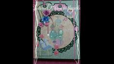 Album desplegable - Couture du Jour Primer Video, Scrapbook, Couture, Mini Albums, Cover Pages, Tutorials, Crates, D Day, Haute Couture
