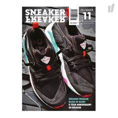 Sneaker Freaker German Issue 11 ( Cover 3 ) - http://www.overkillshop.com/de/product_info/info/11540/