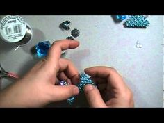 Day 6 of 10 Days of Christmas Ornaments with Cynthialoowho♥ - YouTube - bling mesh bauble angel