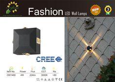 Led Wall Lamp, Led Wall Lights, Lamps, Creative, Fashion, Lightbulbs, Moda, La Mode, Lanterns