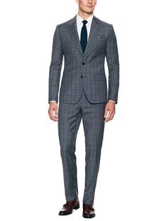 Windowpane Suit by Dolce & Gabbana at Gilt