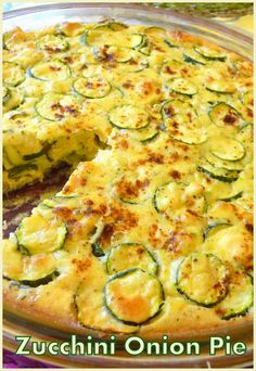It is an amazing side dish! You may convert people who are not fans of zucchini! Vegetable Dishes, Vegetable Recipes, Vegetarian Recipes, Cooking Recipes, Beef Recipes, Yummy Recipes, Cooking Tips, Zucchini Pie, Zuchinni Recipes