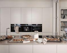 Arkitekt plus beige Home Decor Kitchen, Kitchen Interior, Home Kitchens, Kitchen Dining, Beige Kitchen, Interior Desing, Scandinavian Kitchen, Kitchen Cabinetry, Soapstone Kitchen