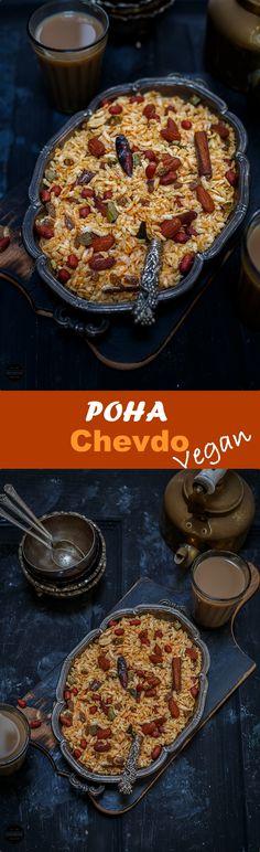 Vegan Poha Chevdo