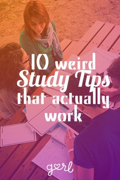 10 Weird Study Tips That Actually Work